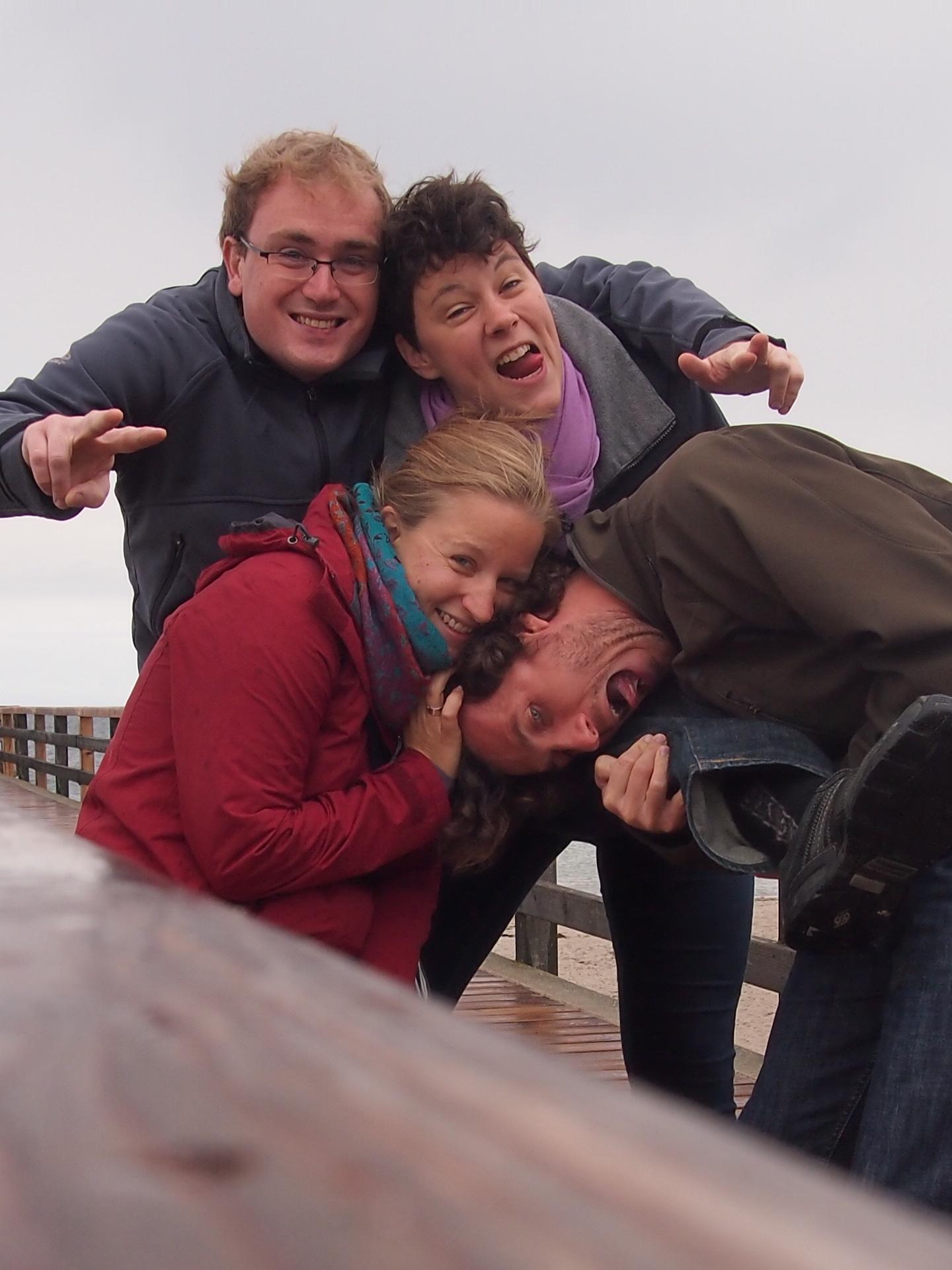 Zusammen ist man weniger allein! Reise mit Freunden an der deutschen Ostseeküste