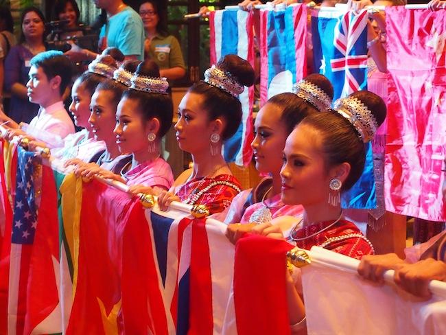 Feierliche Eröffnung des Kreativ Reisen Forum in Bangkok, Thailand