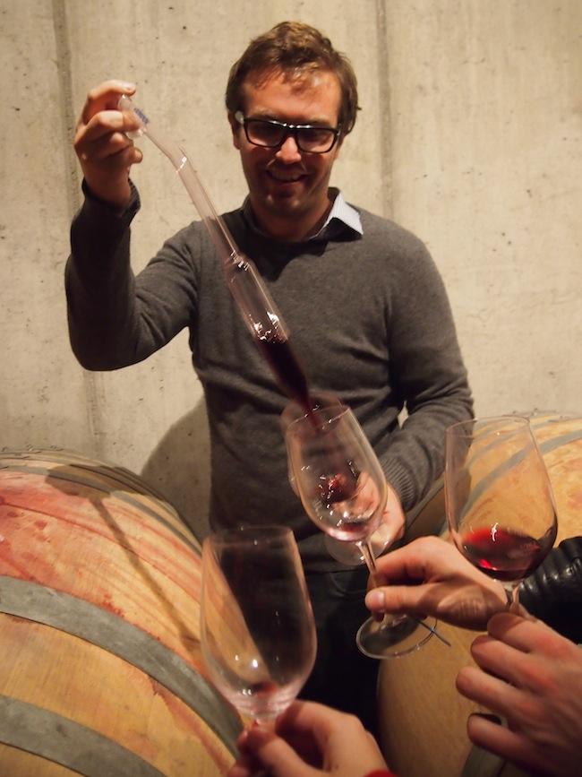 Zu Besuch im Weingut Franz Weninger, Horitschon, Blaufränkischland