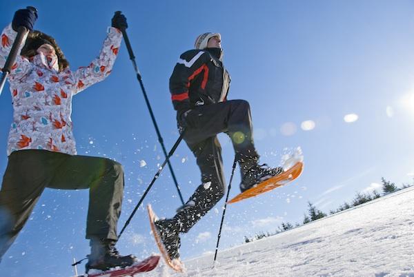 Schneeschuhwandern nahe Bärnkopf im Waldviertel (c) Waldviertel Tourismus