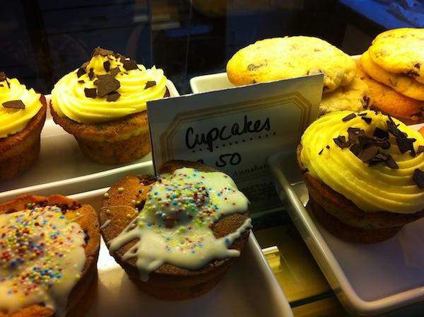 Die Cupcakes sind aber auch nicht zu verachten ... Auf jeden Fall einen Besuch wert!