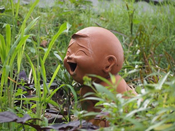 """Buddha hatte immer schon viel zu lachen: Schließlich """"ging er"""" in das """"Nirwana ein"""" - und beendete somit seine Reise wohl nie ganz. ;-)"""