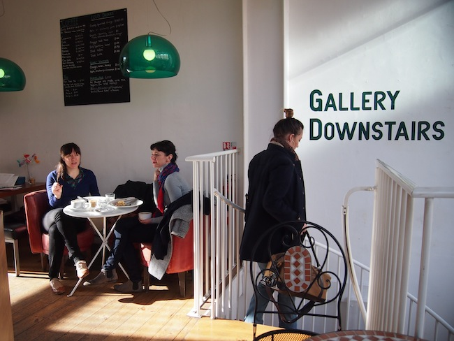 Check out the downstairs gallery ...
