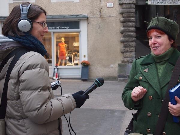 """Martina Gyuroka ist auf www.salzburg-bierguide.at für ihre Fans erreichbar: Ein Tipp ist der Bierrundgang in der Salzburger Altstadt mit Besuch des Zwettler Brauhauses und viel """"Geschichte mit Geschichten""""."""