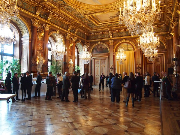 Conference Hotspot for the 2nd International Conference on Creative Tourism: The Hôtel de Ville in the heart of the city.