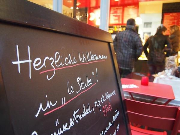 """Gemütlich: Willkommen in """"Le Stube"""" :)"""