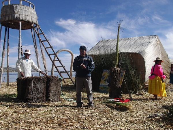 During a one-day visit to the Floatings Islands of Los Uros on Lake Titicaca, we learn about the customs, traditions and modern lifestyle of this ancient people living on reed islands right ON the lake.