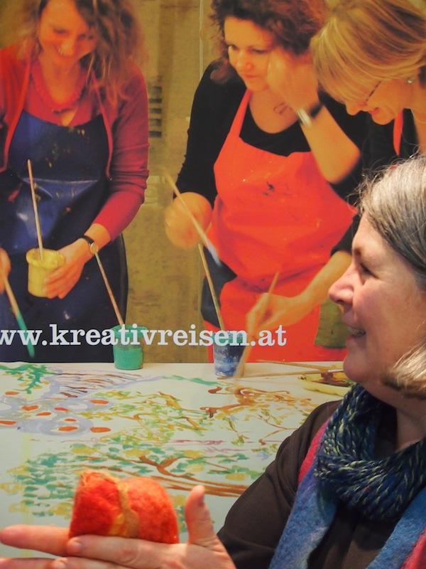 Frau Müller-Kaspar ist unsere Kreativ Reisen Vereinsbotschafterin des Tages!