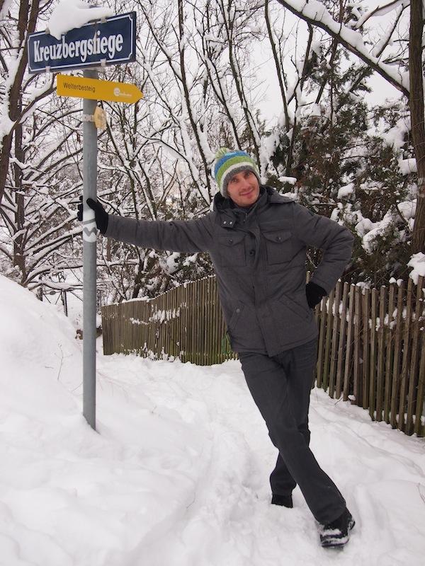 """Stolz sind wir da auf die Wanderung entlang des """"WeltErbeSteiges"""" über der Donau, welche auch im Winter möglich ist. Unser (bester) Tipp: Vorher einen Kuchen backen, dann aufbrechen. Er wird nie so gut, wie nach einer schnee- und erlebnisreichen Wanderung schmecken :D"""