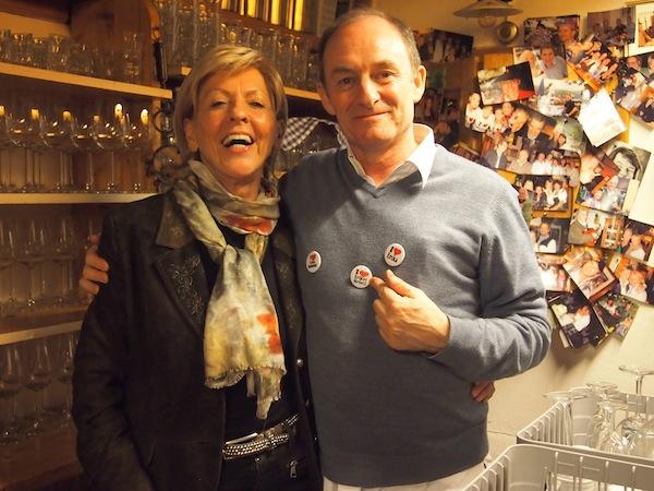 Terry is a fan: Erikas Buschenschank ist auf Anfrage 365 Tage im Jahr geöffnet und befindet sich unweit des LOISIUM Wine & Spa Resort in Gamlitz entlang der südsteirischen Weinstraße.