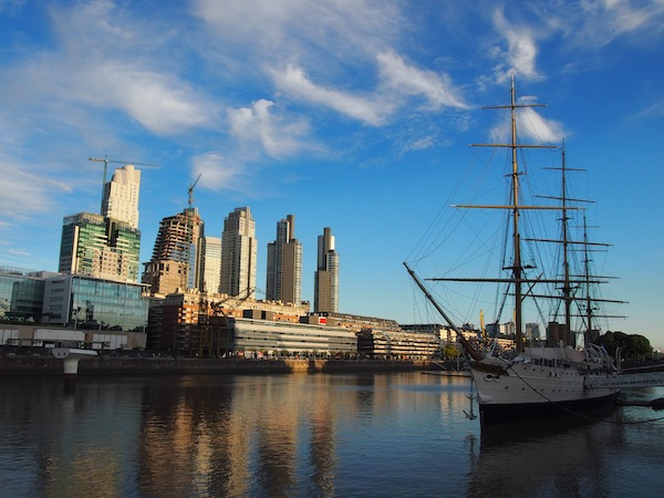 @Puerto Madero: Views like these spoil us on our trip to Buenos Aires ... Pure magic.