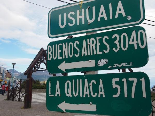 """Gewusst wie: Einheimische """"Greeter"""" weisen einem unterwegs den Weg - auch bis in entlegene Fernreiseziele wie das am Ende der Welt gelegene Ushuaia in Südpatagonien, ca. 3.000 km von Buenos Aires entfernt."""