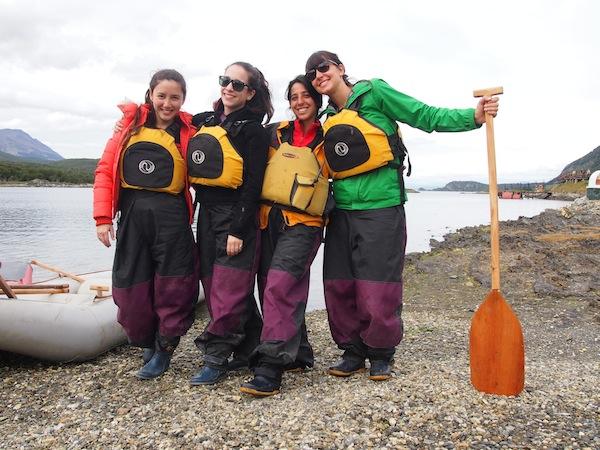 Das Siegerteam rund um Anführerin Flor mit ihren Freundinnen, die sie aus Buenos Aires besucht haben!