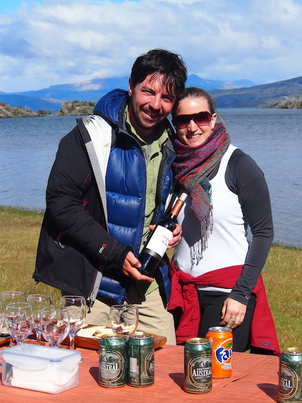 "My ""Gaucho"" for the day: Our knowledgeable and friendly guide Eduardo, who in addition to all the local commentary provides us with delicious snacks, picknick and great ""Cerveza Austral"" (Southern Beer). A wonderful day out in Torres del Paine!"
