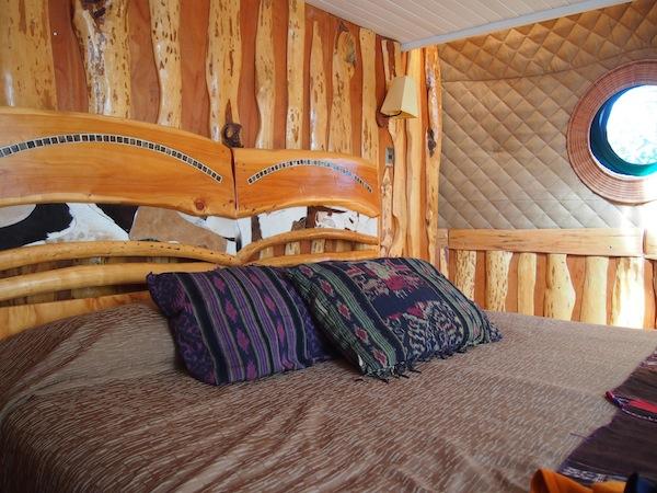 Hier schläft es sich besonders gut: Auftakt unserer Wanderung im Nationalpark Torres del Paine inmitten des luxuriösen EcoCamp Patagonia.