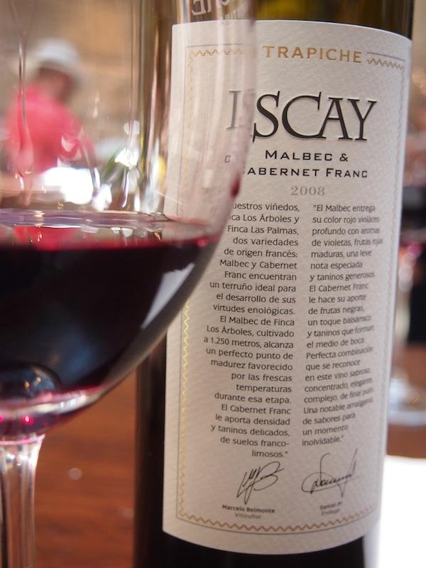 Der Malbec mundet hier ganz besonders, aber auch der Weißwein - Torrontés - kann sich sehen lassen: Genüssliche Weinverkostung am Weingut Trapiche, einem der ältesten von ganz Mendoza.