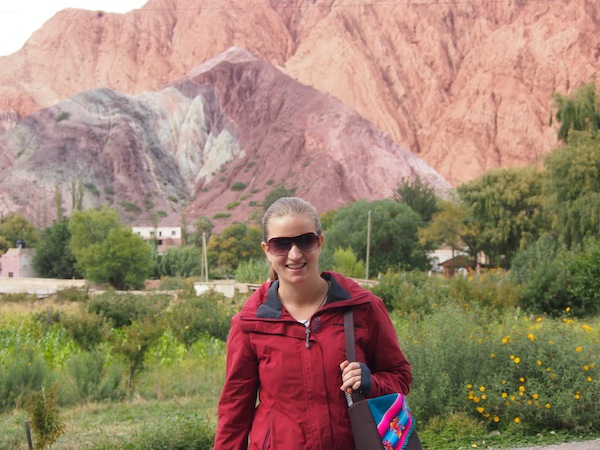 "Starting off at the foothill of ""The Hill of Seven Colours"" in Purmamarca, Argentina."