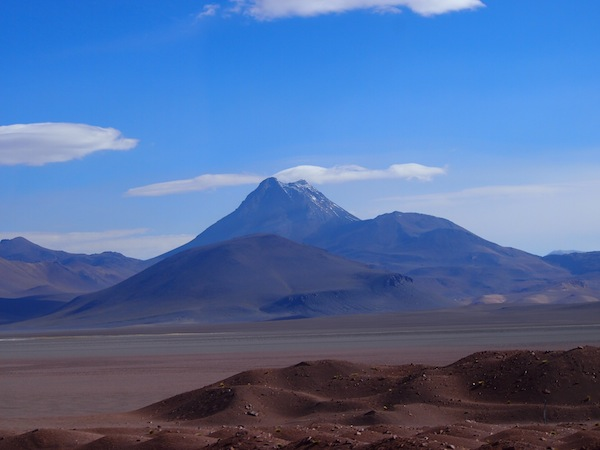 One of my favorite shots of the day, it's at the foothill of this volcanic mountain San Pedro de Atacama is set. Welcome to Chile, I say!