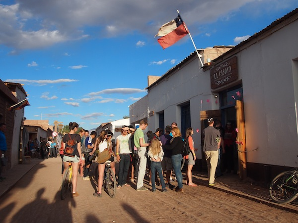 Arriving in San Pedro de Atacama: Lots of tourists, lots of options, good to know if you already have a recommendation for organizing your Atacama experience.