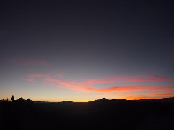 """... bevor """"Inti"""" (Quechua für Sonne) sich ganz von uns verabschiedet und den Blick auf Jupiter und die Sterne freigibt."""