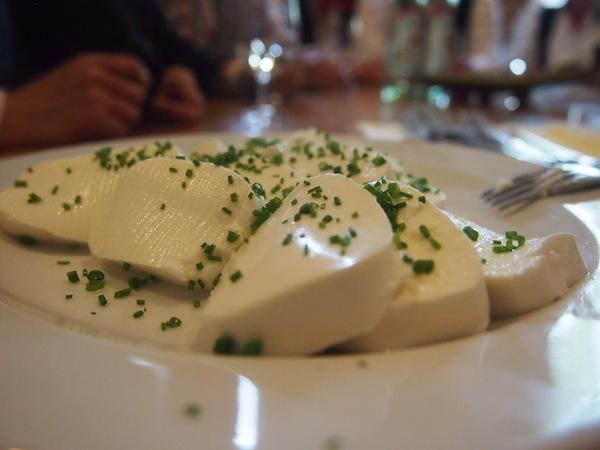 """Der typische """"Schofkas"""" (Schafkäse) des Betriebes hat es bis zur eigenen Auszeichnung als """"Genussregion"""" in Niederösterreich geschafft; der Geschmack ist tatsächlich frisch & vorzüglich!"""