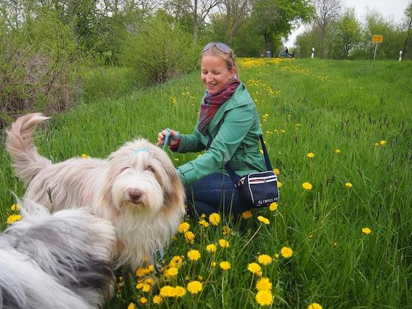 I love the dogs. Janni & Julchen sind einfach zum ANBEISSEN (ob sie wohl dasselbe von mir denken?).