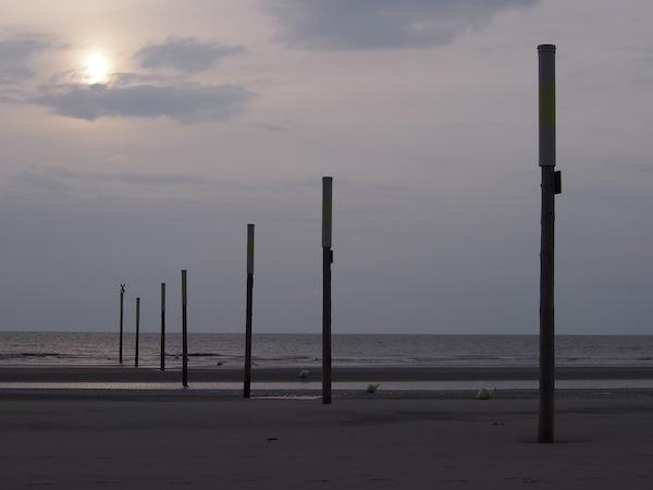 Sunset-Magie an der Nordsee.