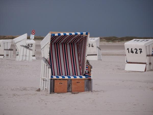 Strandkorb-Romantik.