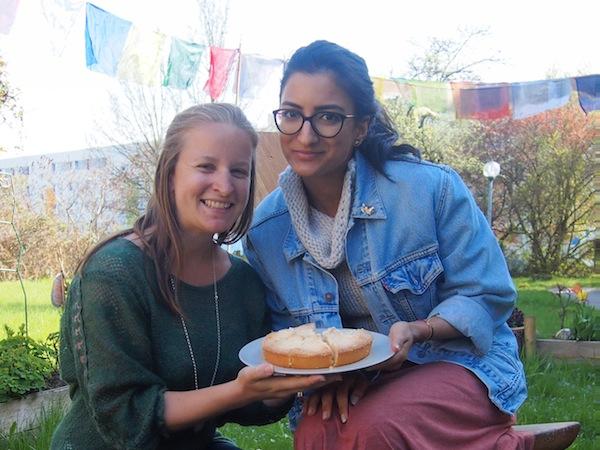 Zur Begrüßung in Wismar gibt es gleich mal Kuchen für alle Teilnehmer. We LIKE! :)