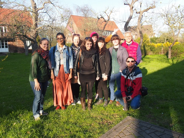 Unser internationales Team mit Teilnehmern aus Spanien, Dänemark, Italien, Deutschland & Österreich: Gemeinsam sind wir zur #balticdiscovery gereist, um hier während sechs Tagen über die kreativen Kultur-Angebote der Region zu berichten.