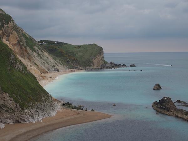 Die Küste und ihr zauberhaftes Farbenspiel haben mich wirklich beeindruckt.