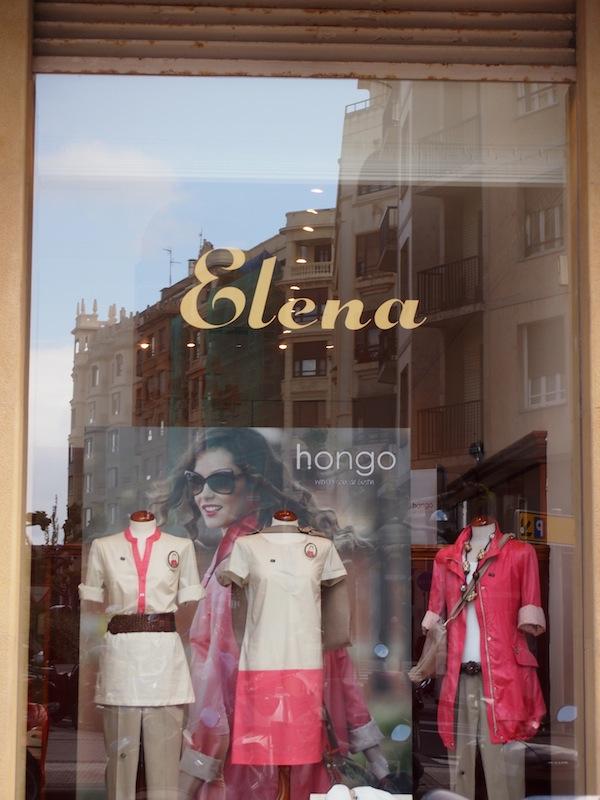 """Auch für mich gibt es einen eigenen Laden """"Elena"""" in San Sebastián!"""
