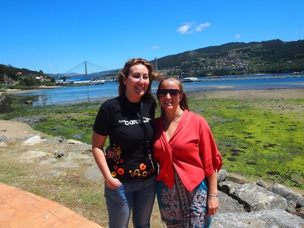 """Sandra & Elena: Ein Herz & eine Seele für die """"kreative"""" Art zu reisen – mit, von & zu den Einheimischen von Galizien und ihrem köstlichen kulinarisch-kulturellen Angebot."""