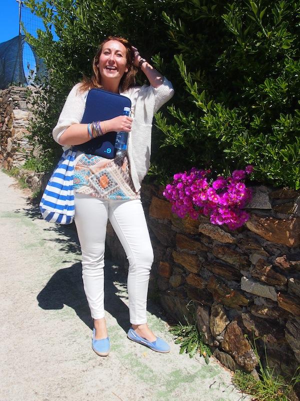 "Gewusst wie: Die charmante Sandra Touza, Initiatorin & Managerin von ""Creative Tourism Galicia / Ponle Cara Al Turismo""."