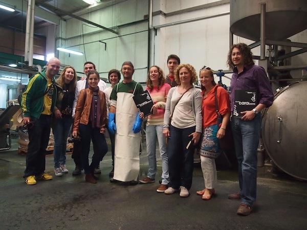 Unsere Gruppe, unser Reisemoment: Was für ein Tag mit Kreativ-Reisen in Galizien!!!