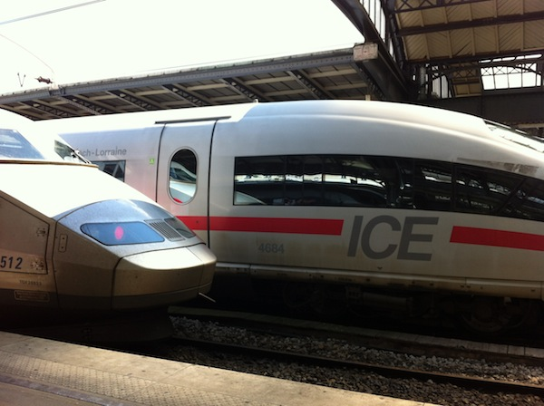 French TGV / ICE trains are the fastest and most potent among all European trains I have travelled on.