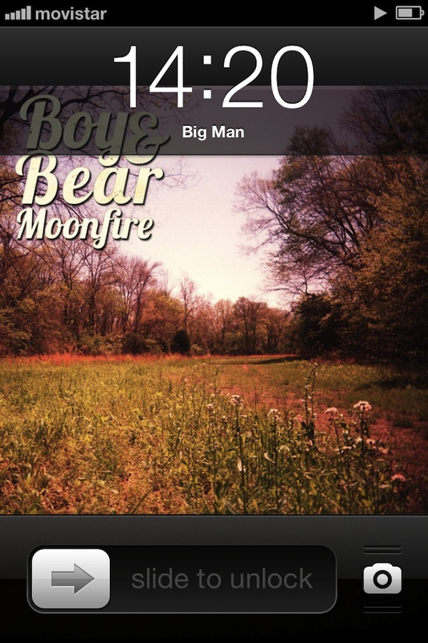 "Good music is always there to travel with me … ""Big Man"" of the Australian group Boy & Bear: Check it out!"