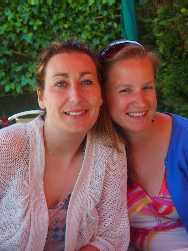 Mit meiner Freundin Sandra Touza, die wir die gleiche Leidenschaft für gutes Essen und kreative Reiseabenteuer teilen!
