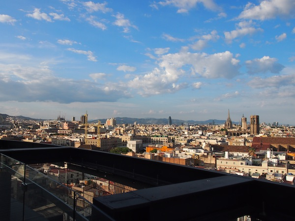 ... across the entire city of Barcelona! Wow guys: What a day! Barcelona is just amazing.