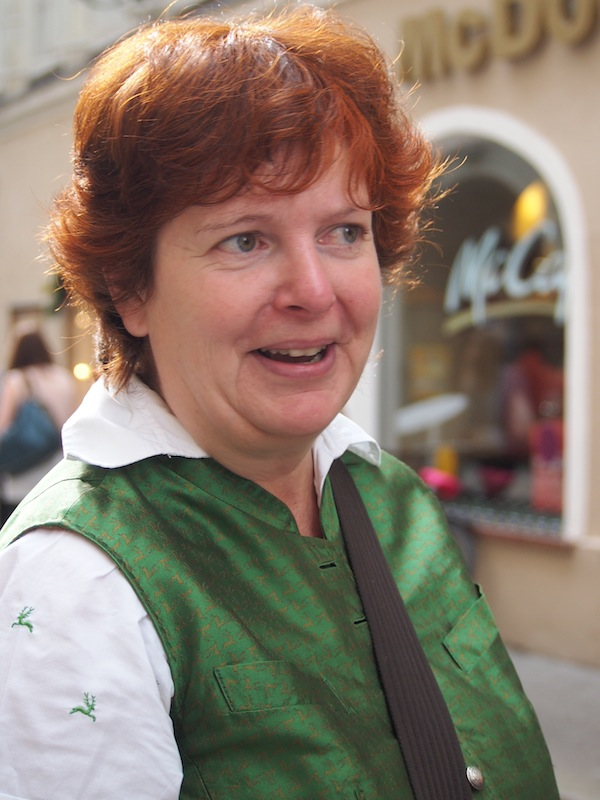 "Martina Gyuroka aka ""Salzburger Bierguide"" wie sie leibt, lebt & erzählt."