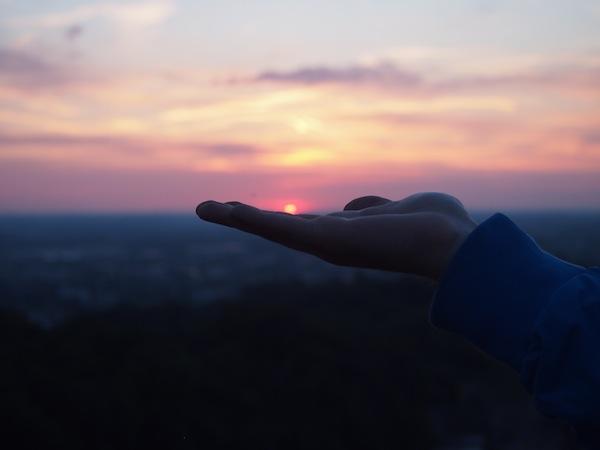 """... ebenso der Sonnenuntergang, den Johannes Zagermann hier für uns """"auf- bzw. einfängt""""."""