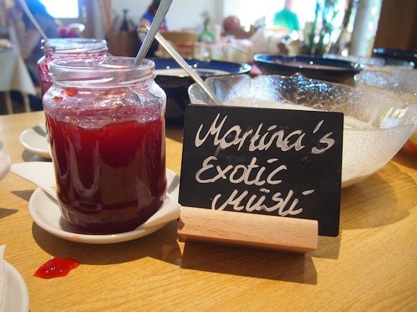Auch beim Frühstück geht es regional & kreativ zu!