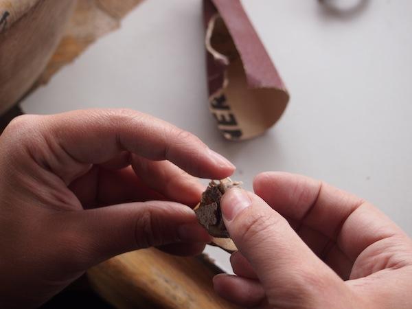 """""""Hexe Susi"""" - mittlerweile glauben wir selbst an unsere Fähigkeiten! - kreiert gerade ihren eigenen Ring."""