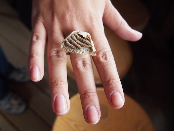 ... und auch Susis Ring kann sich sehen lassen!