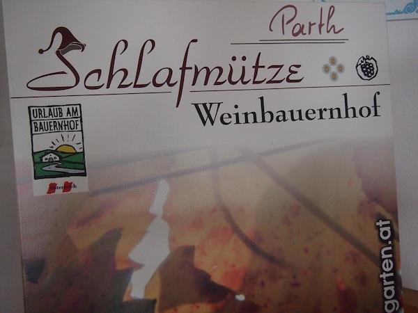 """Gut für Schlafmützen: Urlaub am Weinbauernhof in Niederösterreich passend zum Thema des Weinviertel """"genussvolle Gelassenheit""""!"""