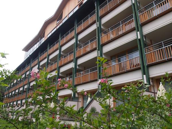 """Das Hotel Erzherzog Johann bietet jedem Gast einen eigenen Kräuterbalkon und verwöhnt auf der Terrasse mit Apfelrosenduft, wie schon zu """"Erzherzog Johann's"""" Zeiten :)"""