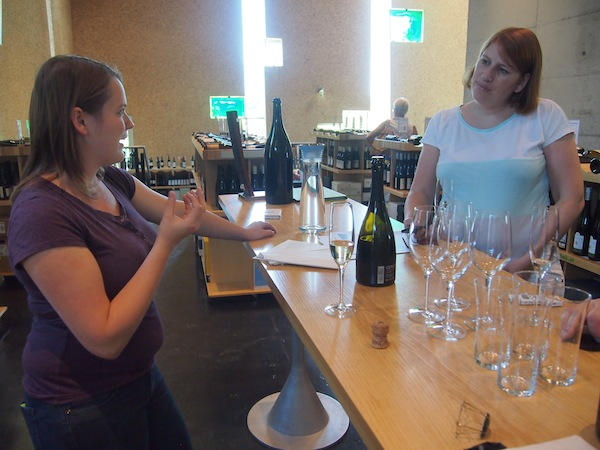 Of course, we could not miss this wine tasting after the tour, including delicious sparkling wines produced by the wine growing family Steininger.