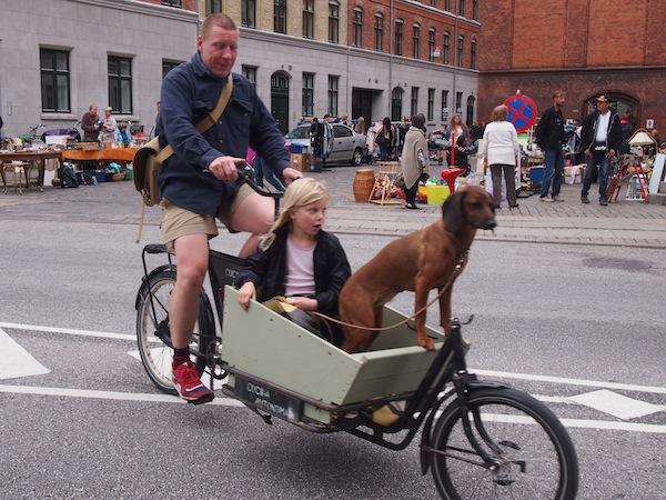 Dänemark ist grundsätzlich eine Fahrradnation ...
