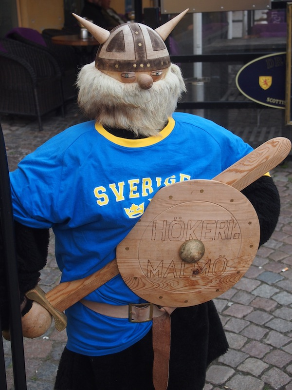 """Hello, Swede!"" Our greeting when heading into the old town …"