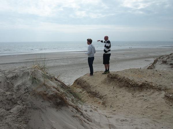 Die Landschaft hier an der Westküste Dänemarks ist aber auch einfach zu schön ...